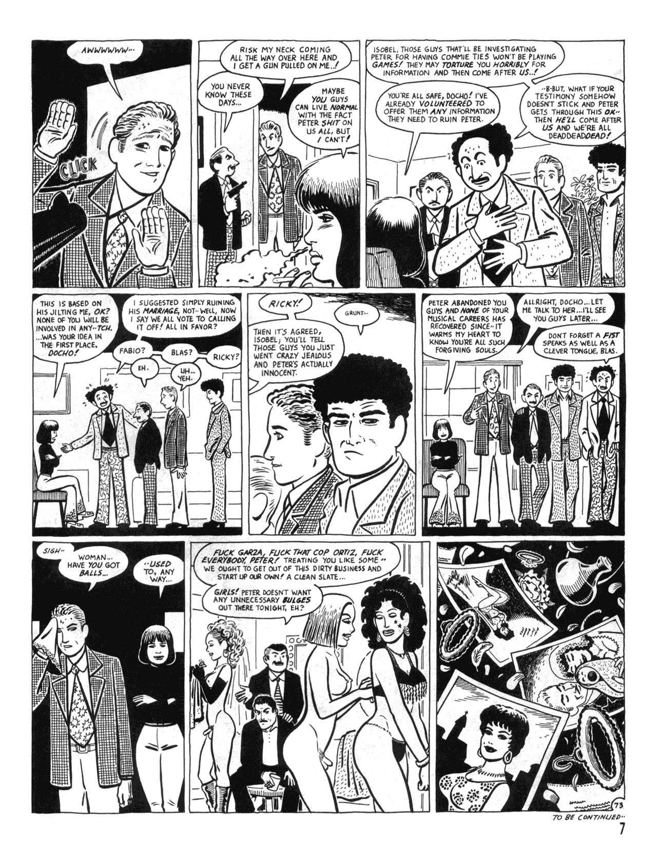 Love and Rockets (1982) #34 #34 - English 9