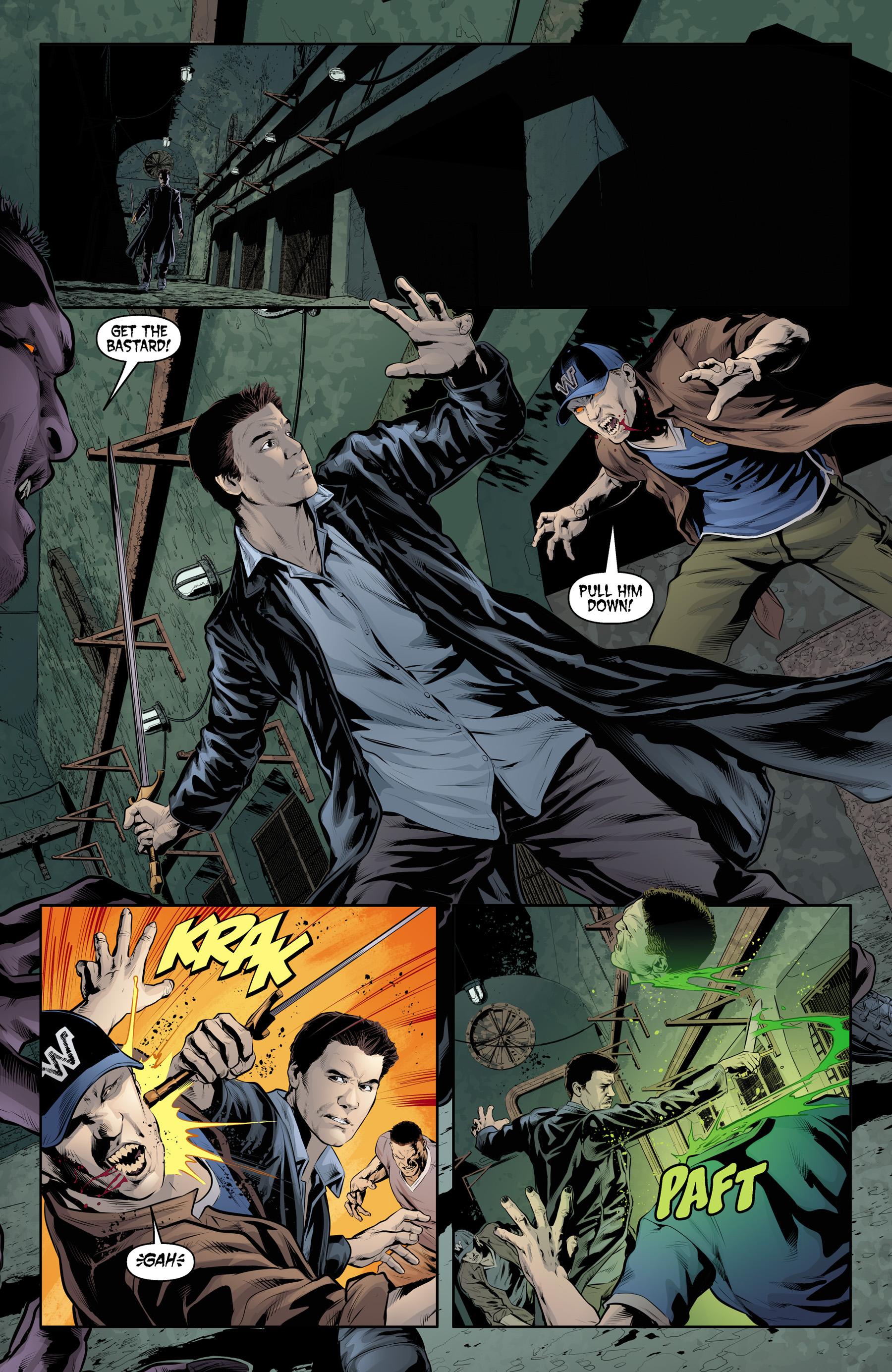 Read online Angel & Faith Season 10 comic -  Issue #21 - 19