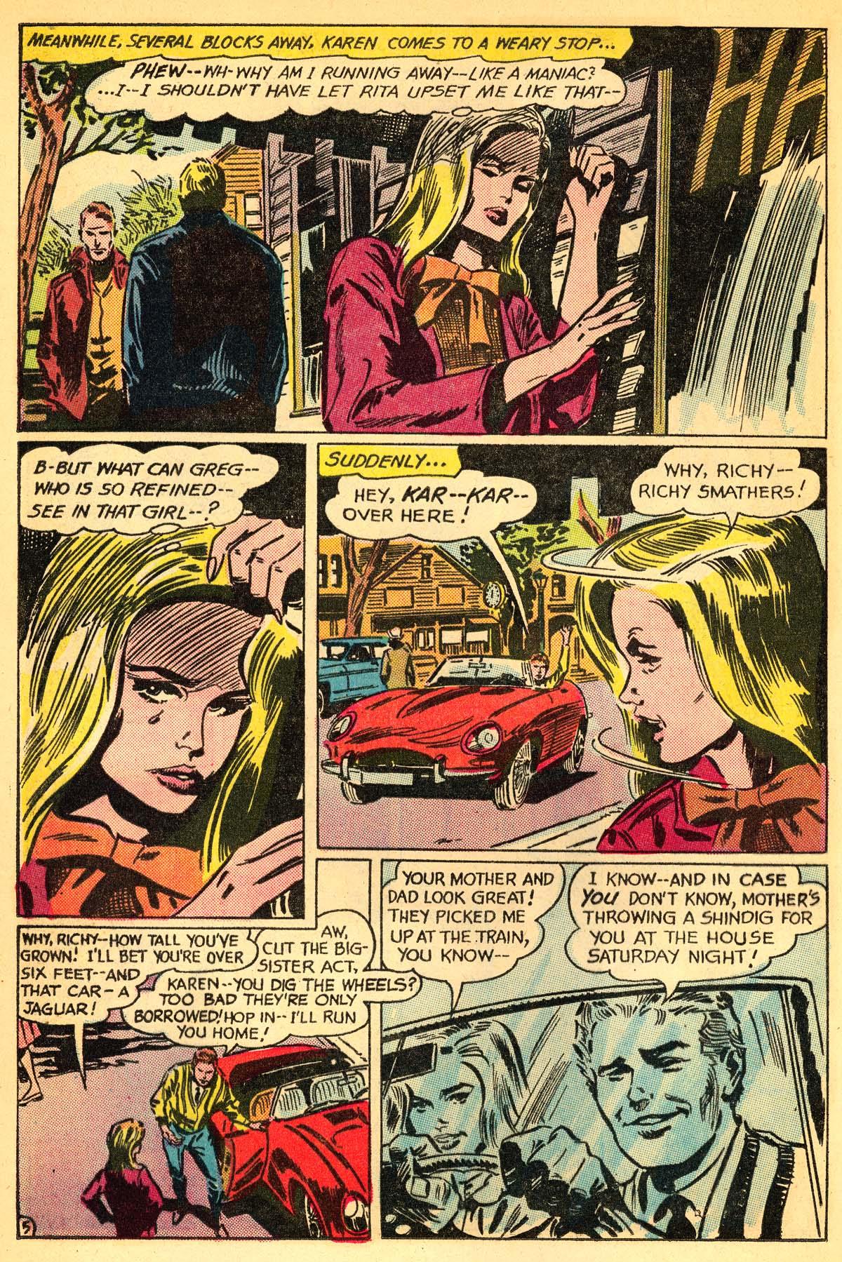 Read online Secret Hearts comic -  Issue #111 - 24