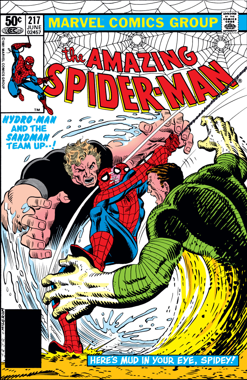 The Amazing Spider-Man (1963) 217 Page 1