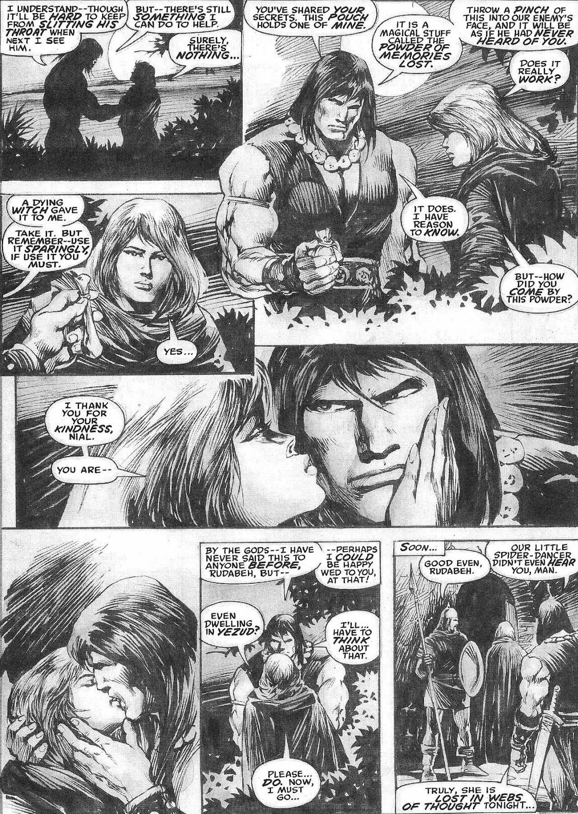 The Savage Sword Of Conan Issue #209 #210 - English 14