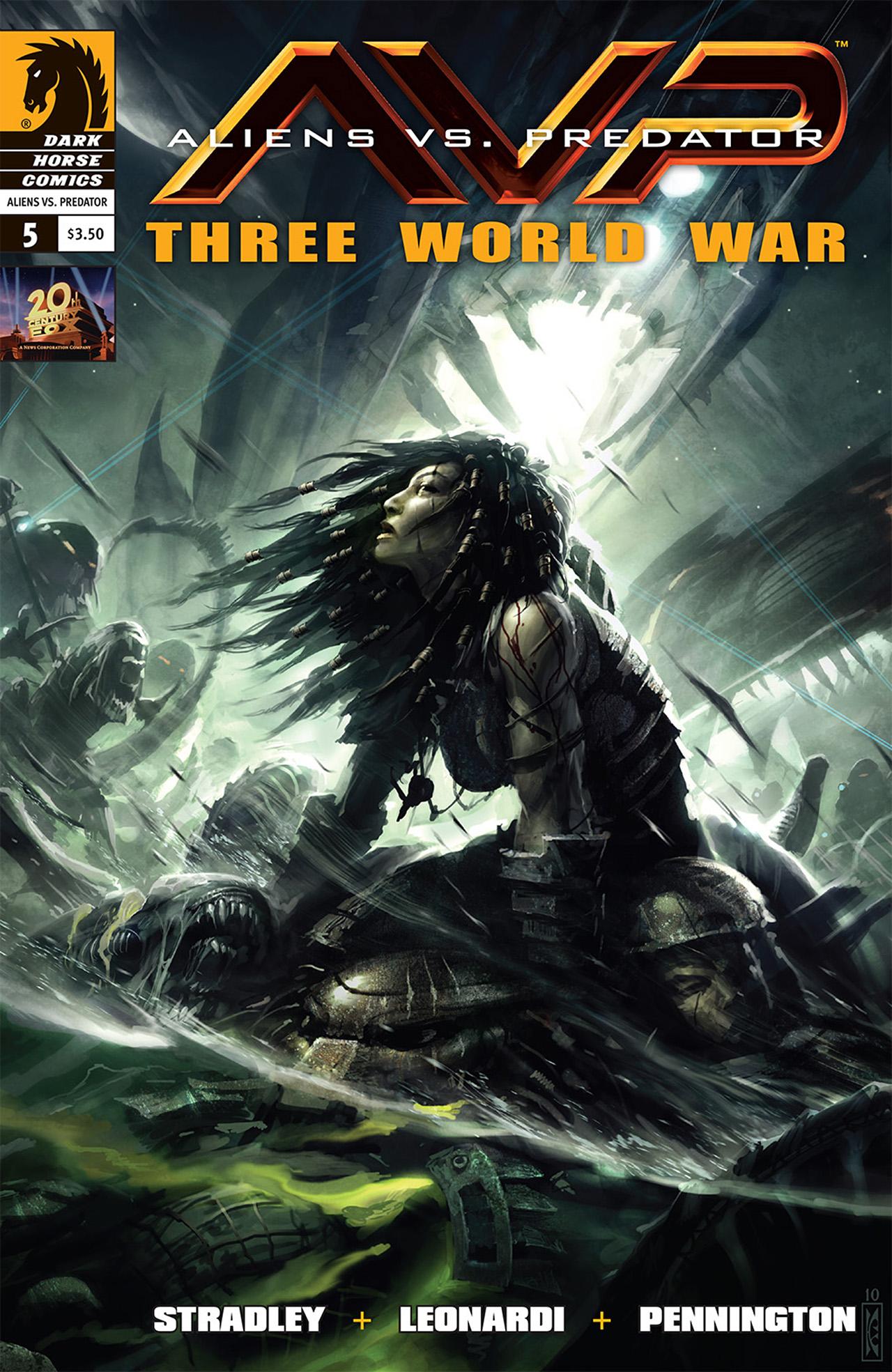 Aliens vs. Predator: Three World War 5 Page 1