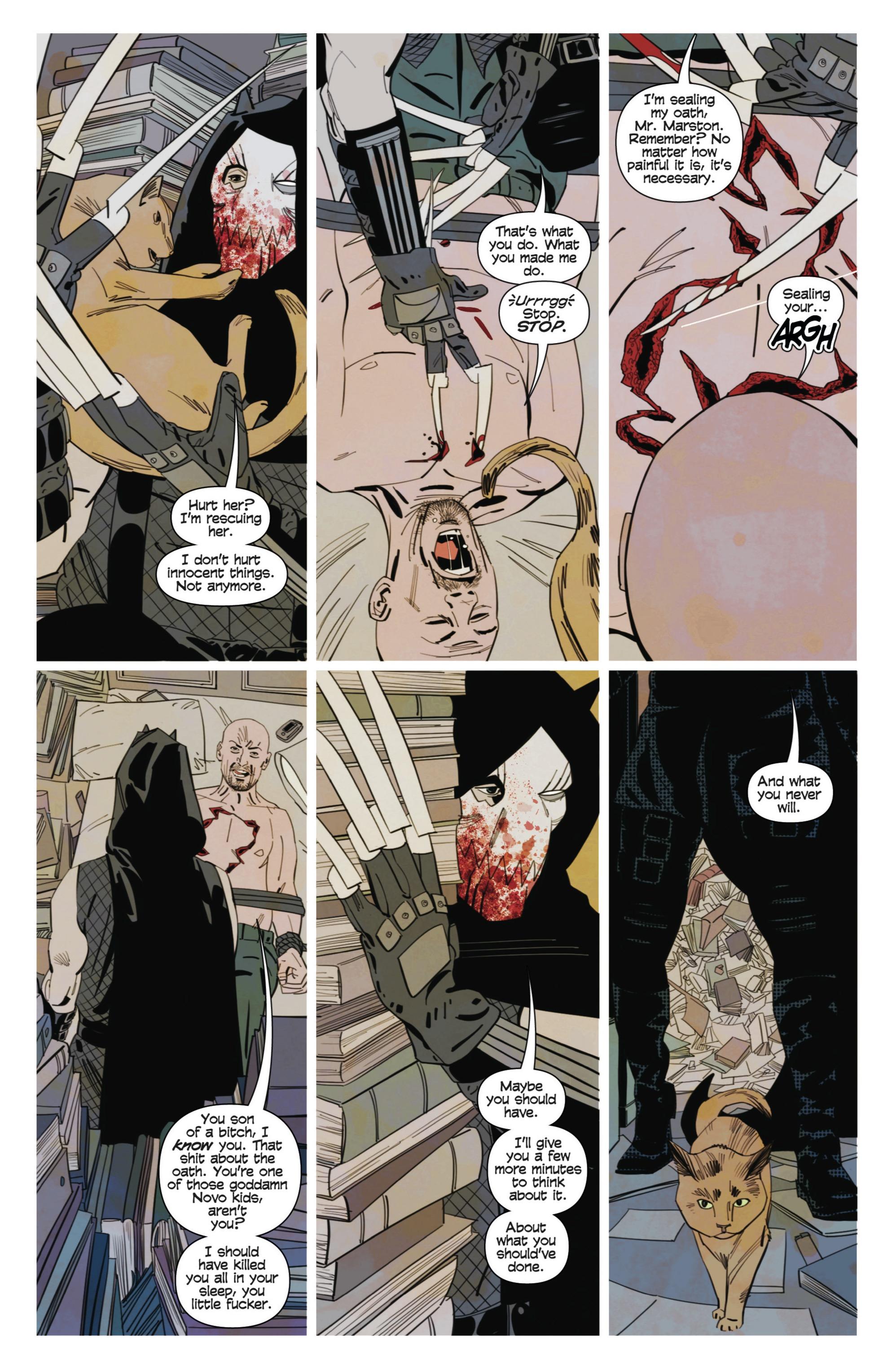 Read online Demonic comic -  Issue #3 - 5
