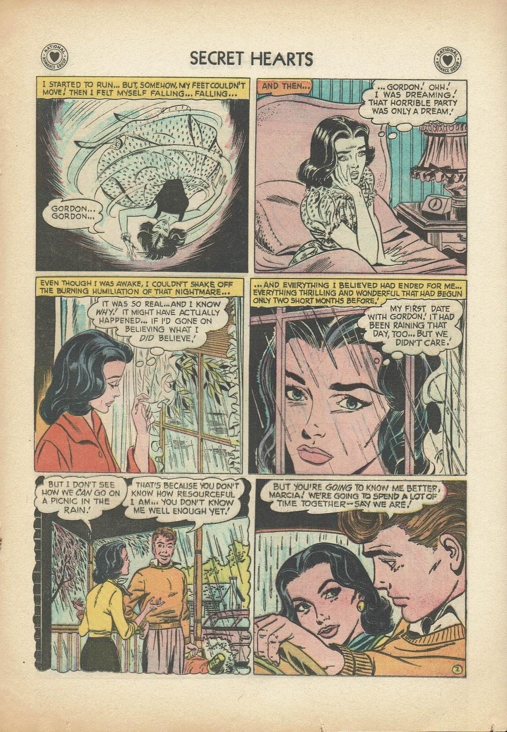 Read online Secret Hearts comic -  Issue #47 - 19