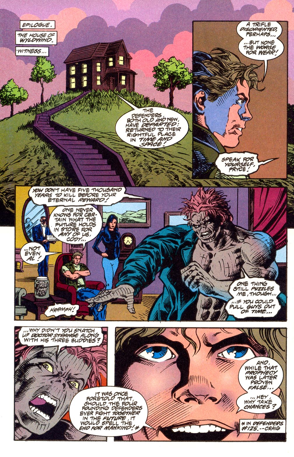 Read online Secret Defenders comic -  Issue #25 - 34