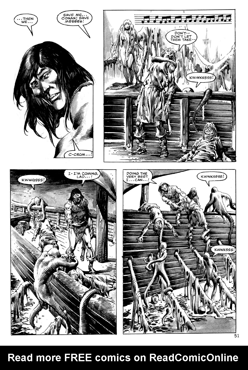 The Savage Sword Of Conan Issue #101 #102 - English 51