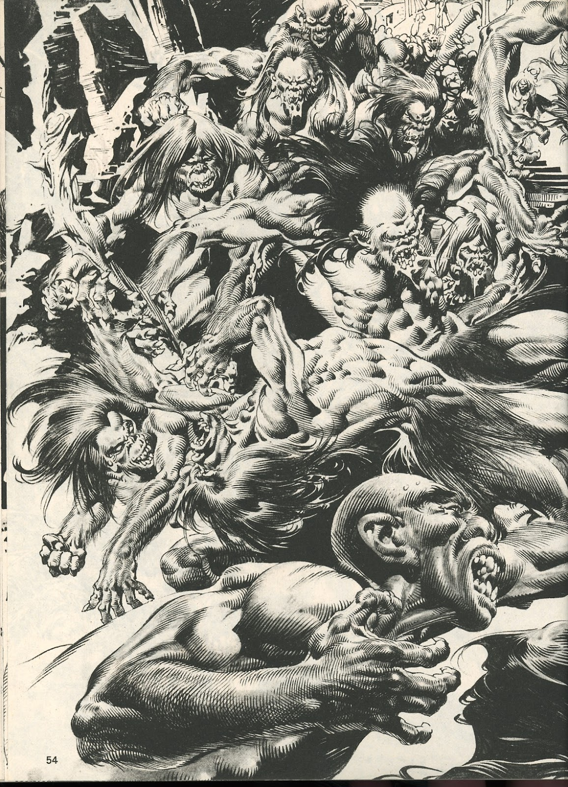 The Savage Sword Of Conan Issue #107 #108 - English 54