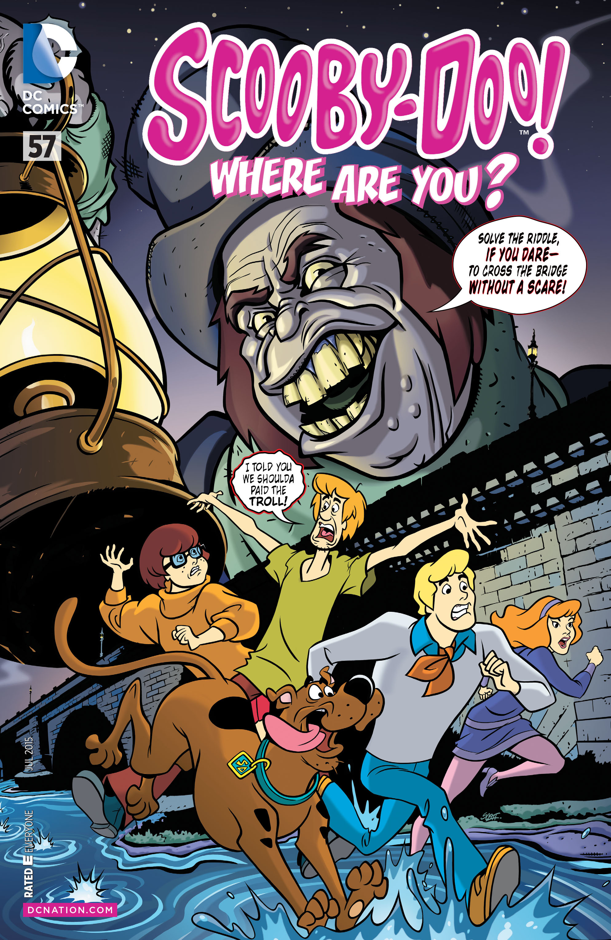Read online Scooby-Doo: Where Are You? comic -  Issue #57 - 1