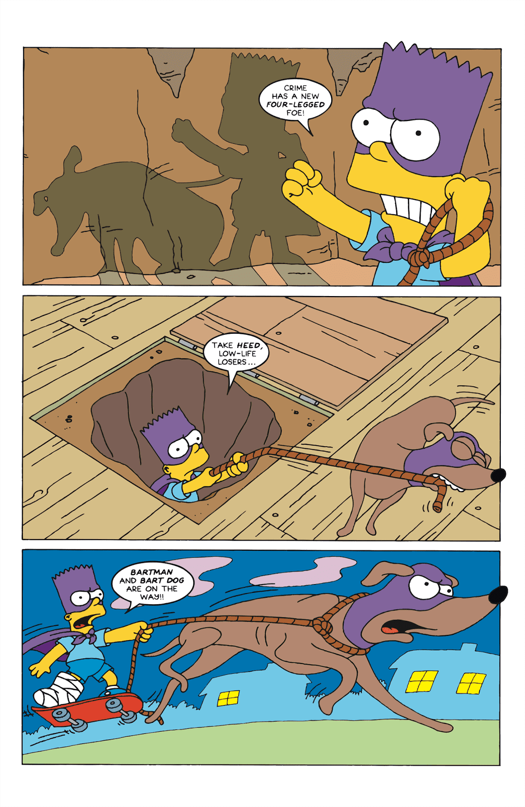 Read online Bartman comic -  Issue #6 - 5