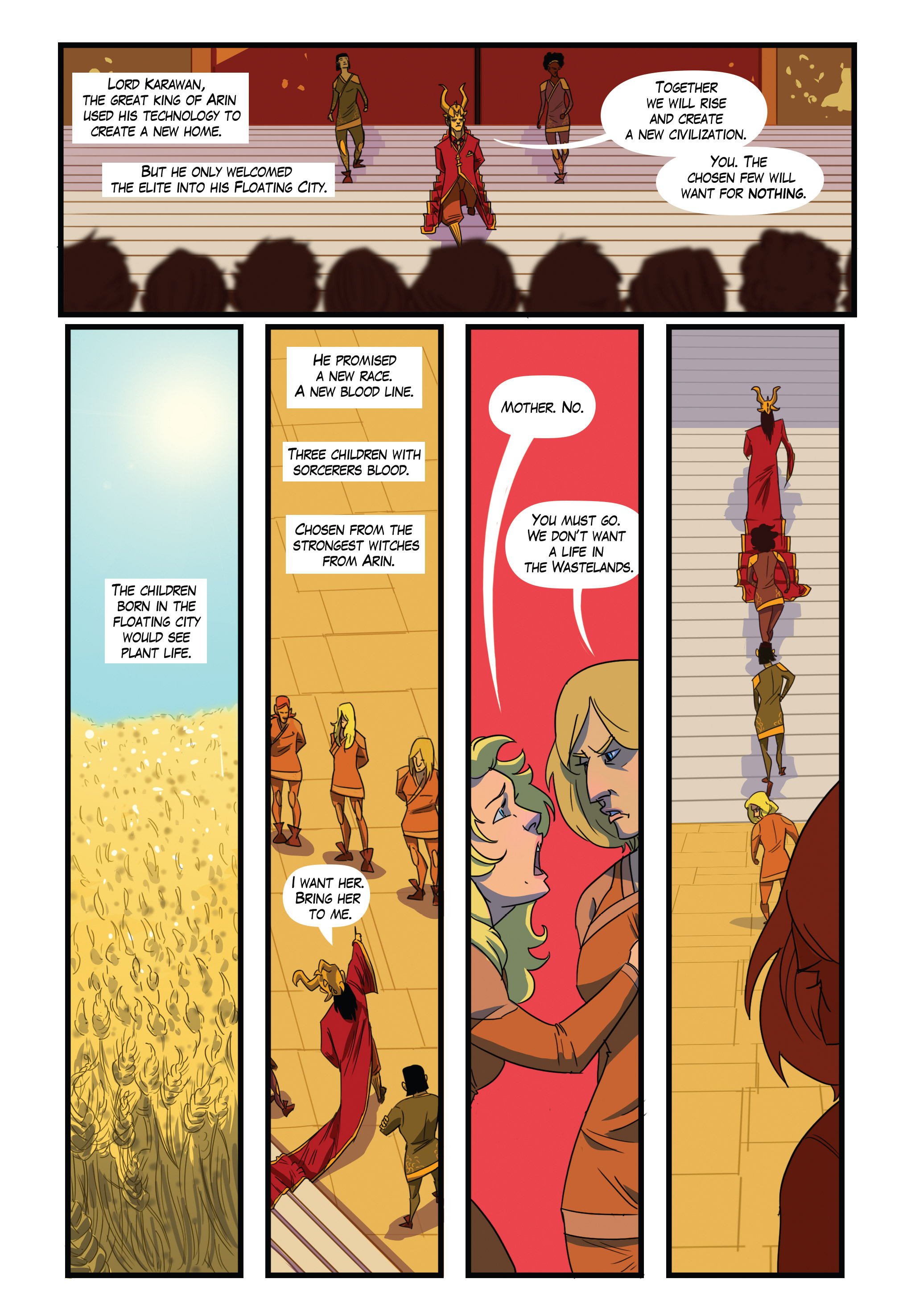 Read online Scavenger comic -  Issue #1 - 5
