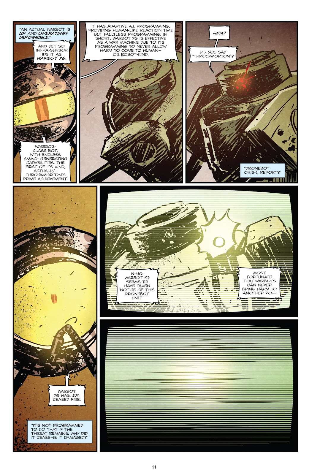 Zombies vs Robots (2015) Issue #1 Page 12
