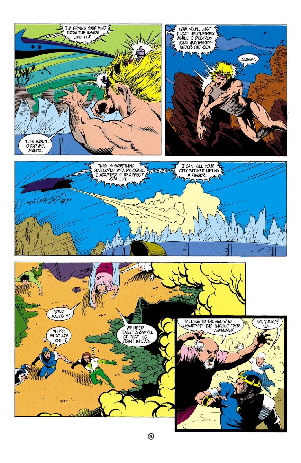 Aquaman (1991) Issue #6 #6 - English 6