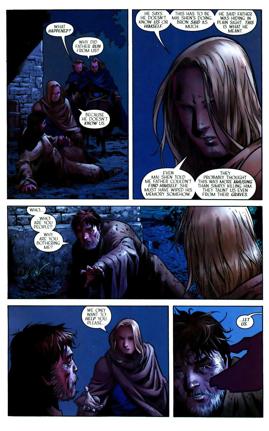 Read online Scion comic -  Issue #38 - 18
