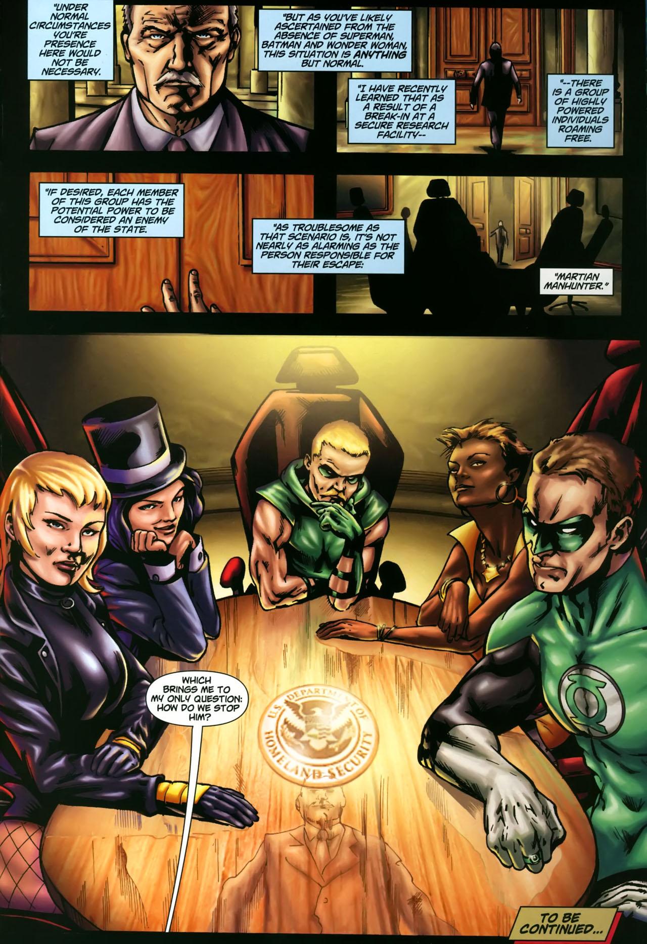 Read online Martian Manhunter (2006) comic -  Issue #3 - 23