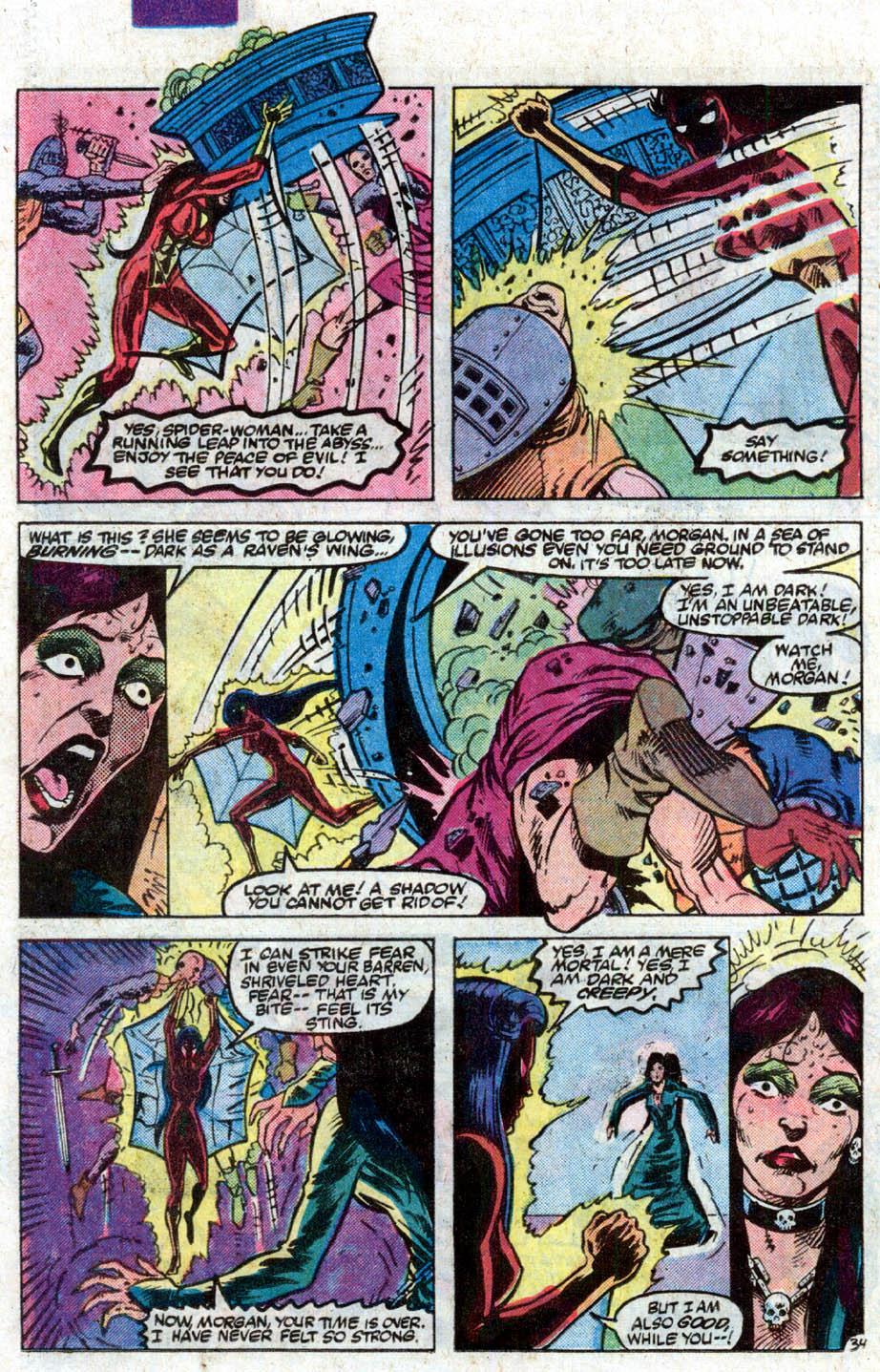 Spider-Woman (1978) #50 #50 - English 36