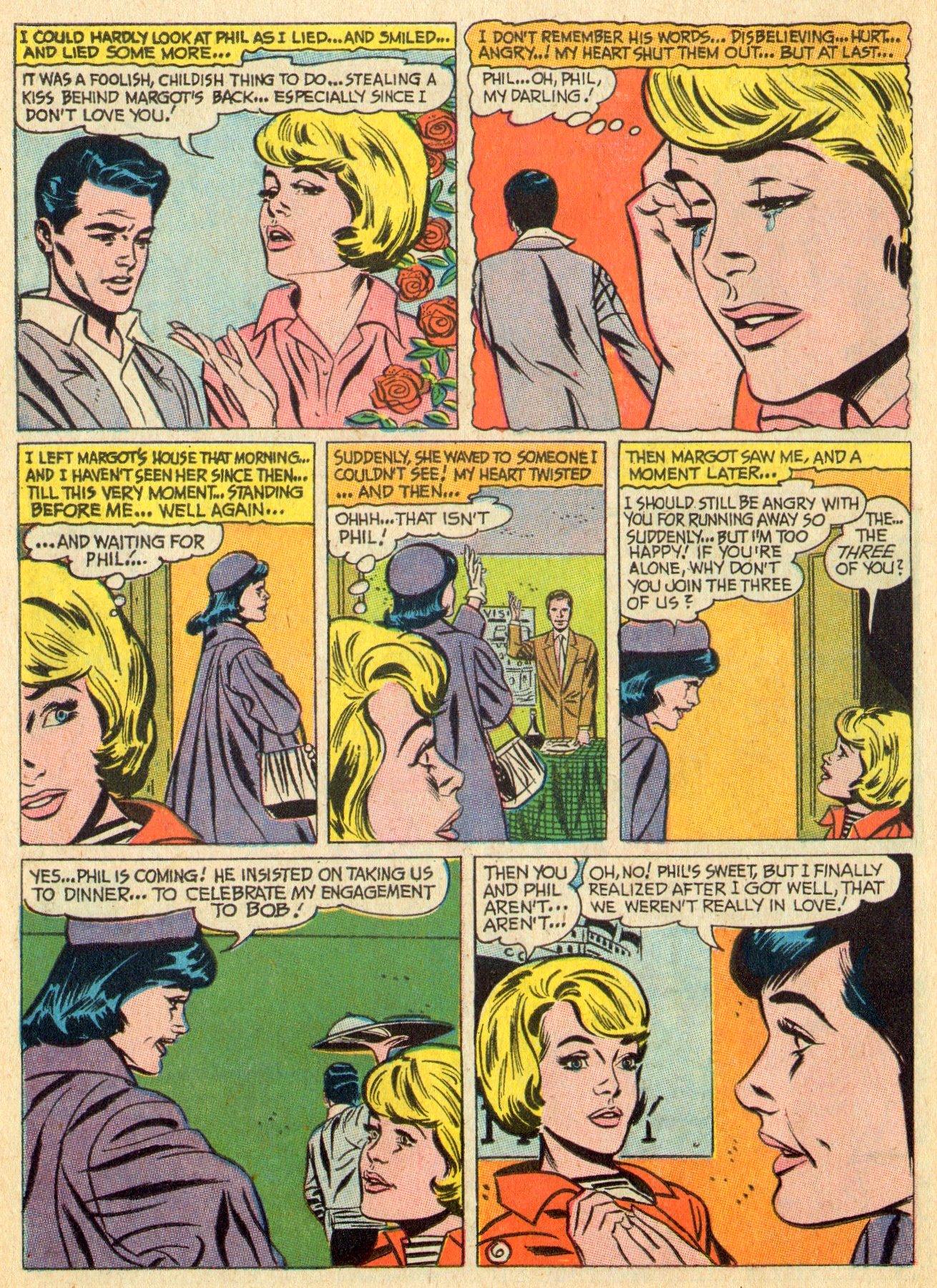 Read online Secret Hearts comic -  Issue #119 - 14