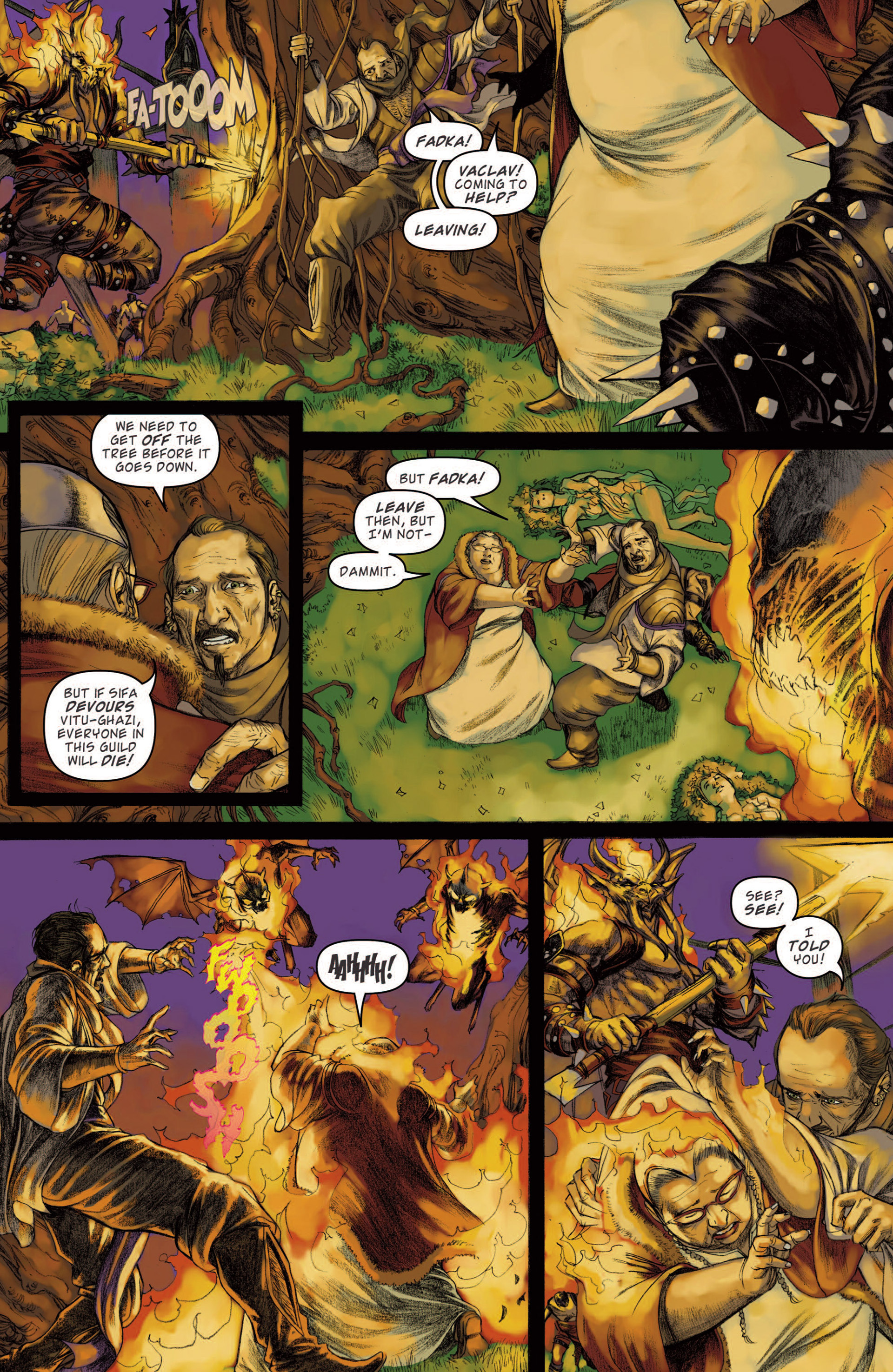 Read online Magic: The Gathering--Path of Vengeance comic -  Issue #4 - 11