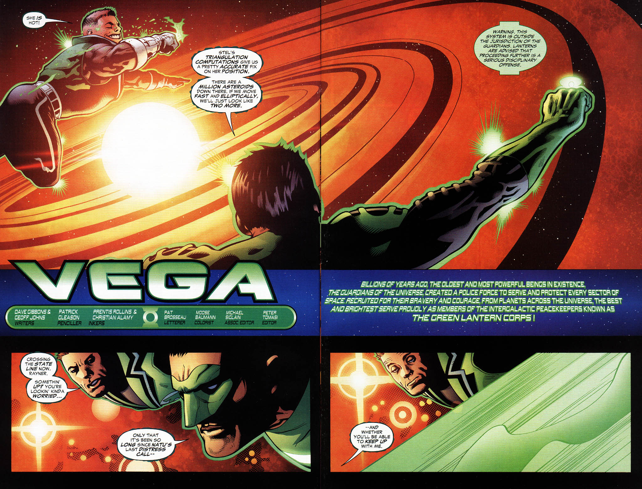 Read online Green Lantern Corps: Recharge comic -  Issue #3 - 3