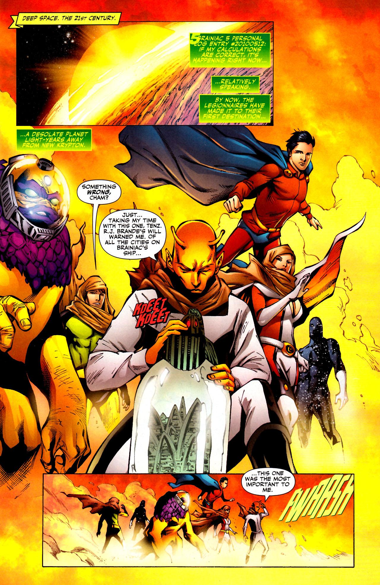 Read online Adventure Comics (2009) comic -  Issue #11 - 2