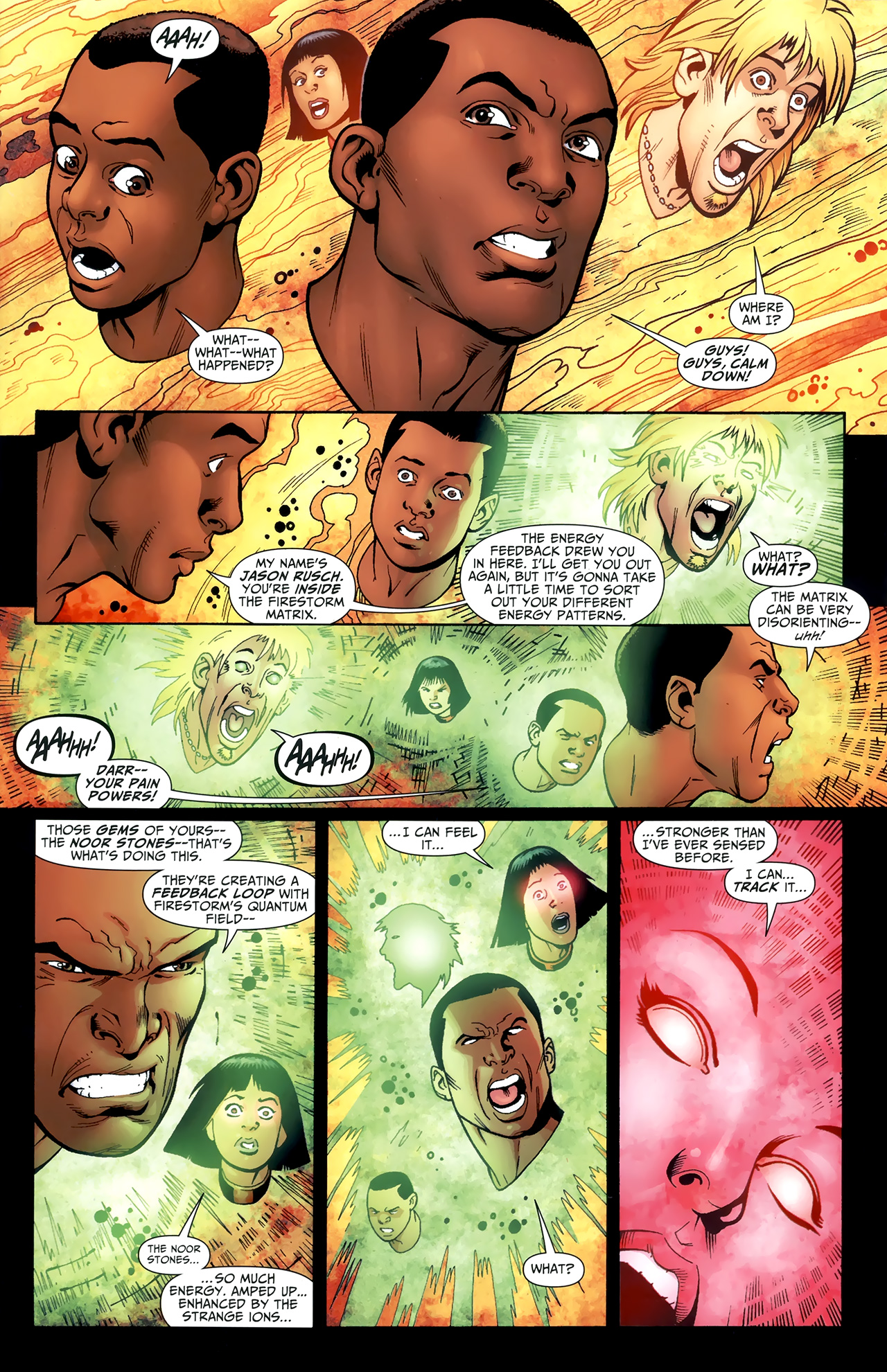Read online Justice League of America/The 99 comic -  Issue #4 - 6