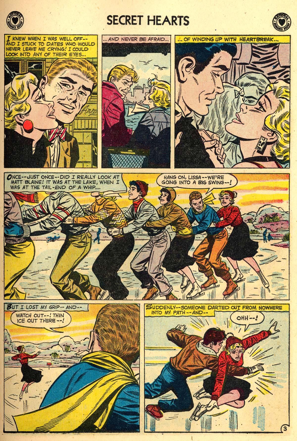 Read online Secret Hearts comic -  Issue #56 - 11