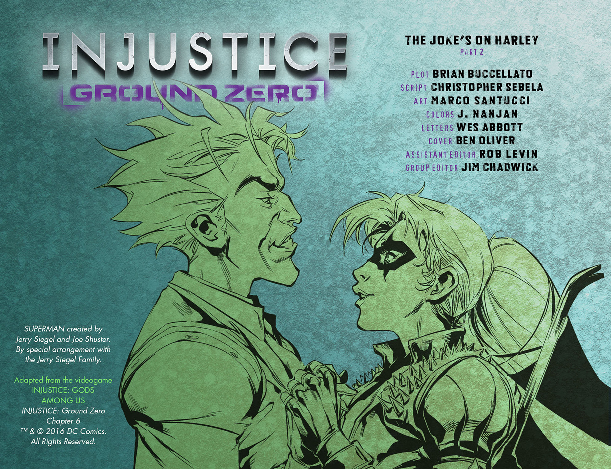 Read online Injustice: Ground Zero comic -  Issue #6 - 3