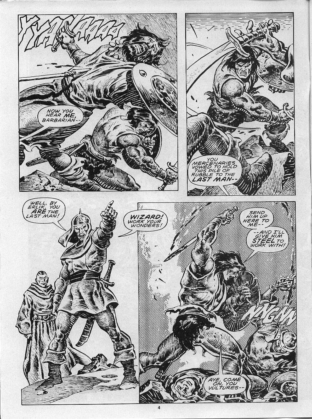 The Savage Sword Of Conan Issue #200 #201 - English 6