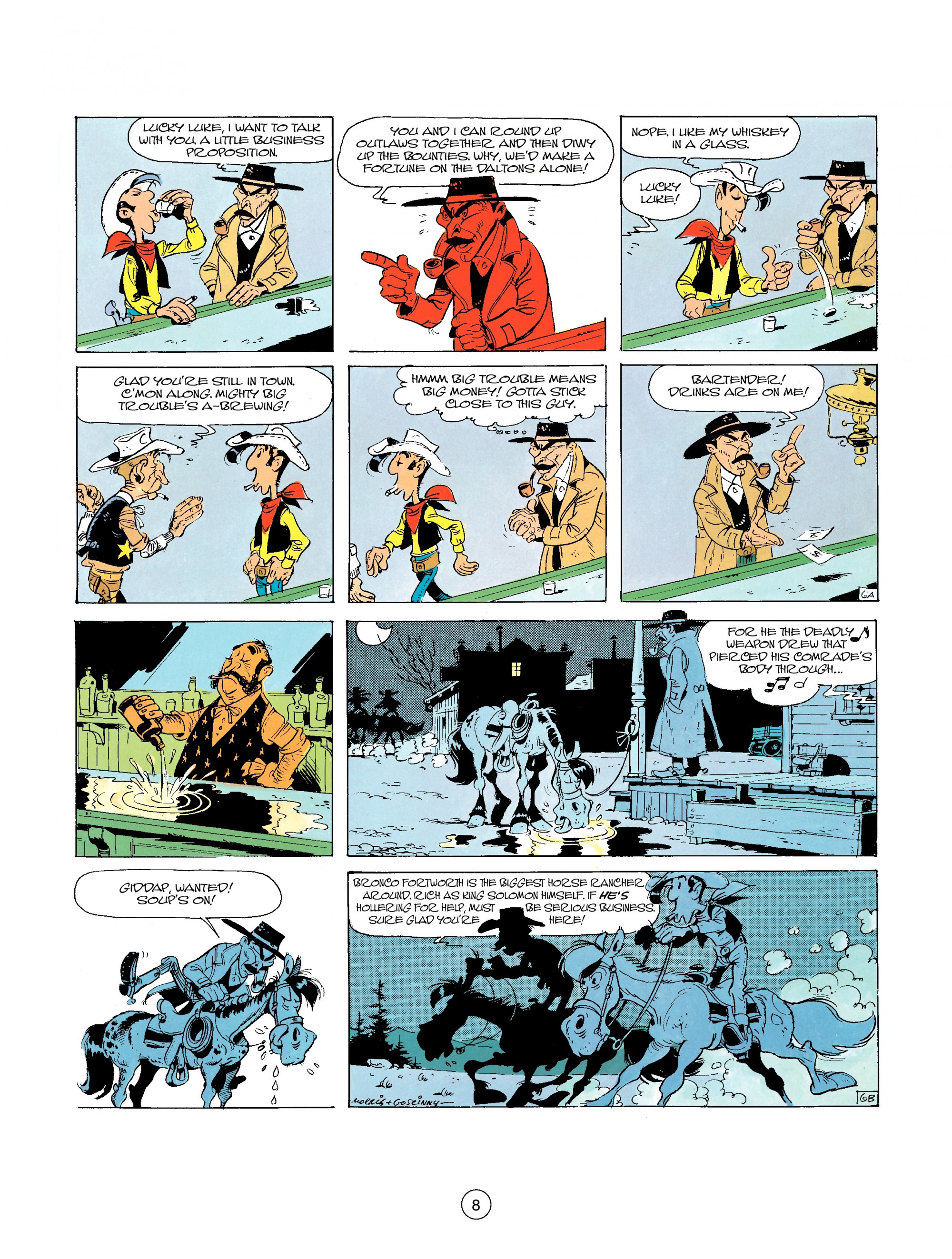 A Lucky Luke Adventure 26 Page 7