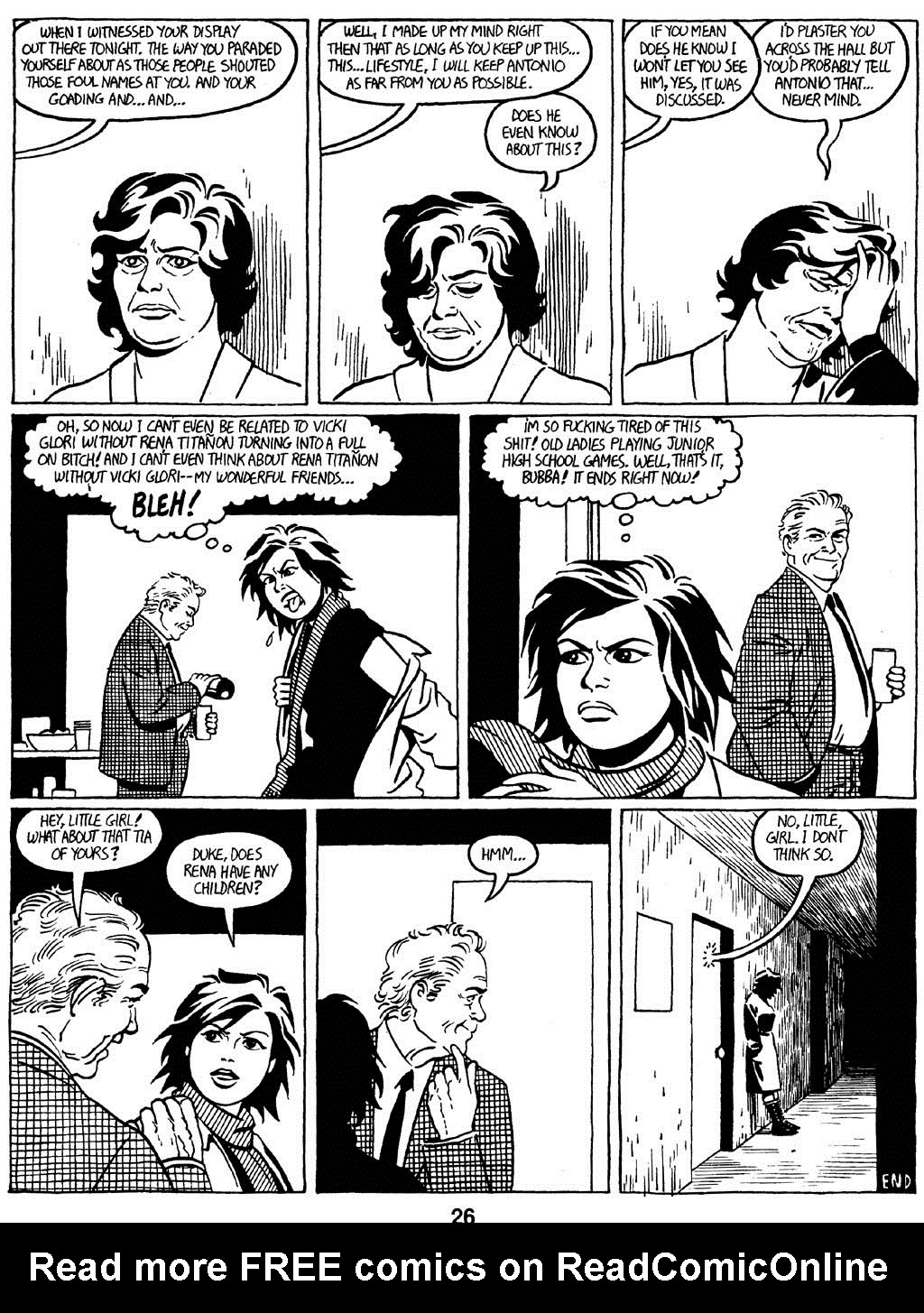Love and Rockets (1982) Issue #16 #15 - English 28