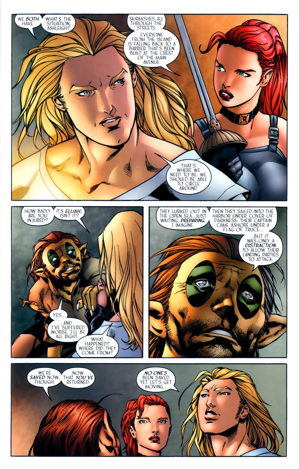 Read online Scion comic -  Issue #30 - 11