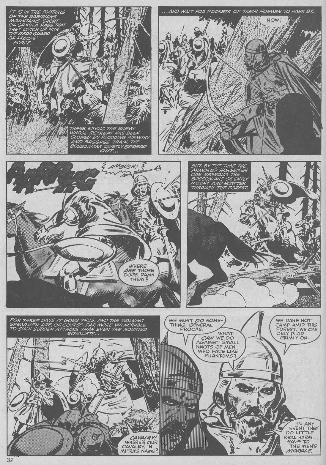 The Savage Sword Of Conan Issue #50 #51 - English 32