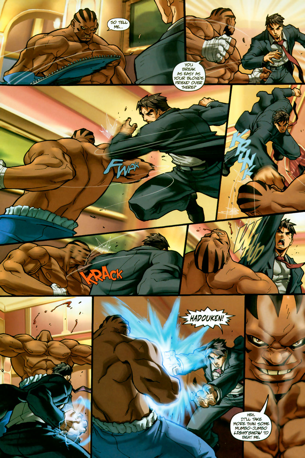 Street Fighter (2003) Issue #14 #15 - English 6