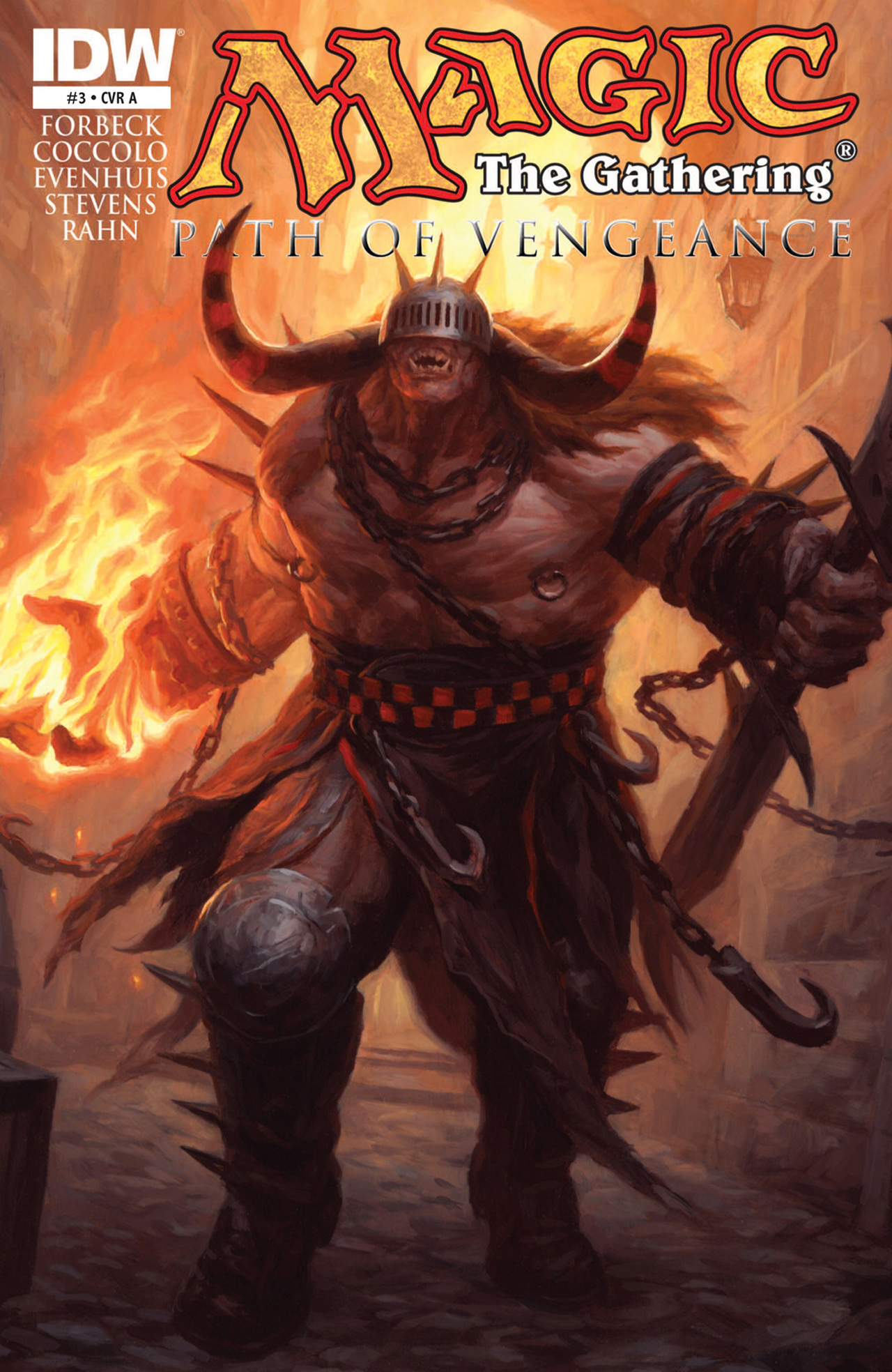 Read online Magic: The Gathering--Path of Vengeance comic -  Issue #3 - 1