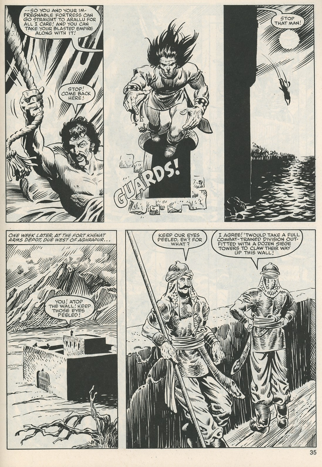 The Savage Sword Of Conan Issue #112 #113 - English 36