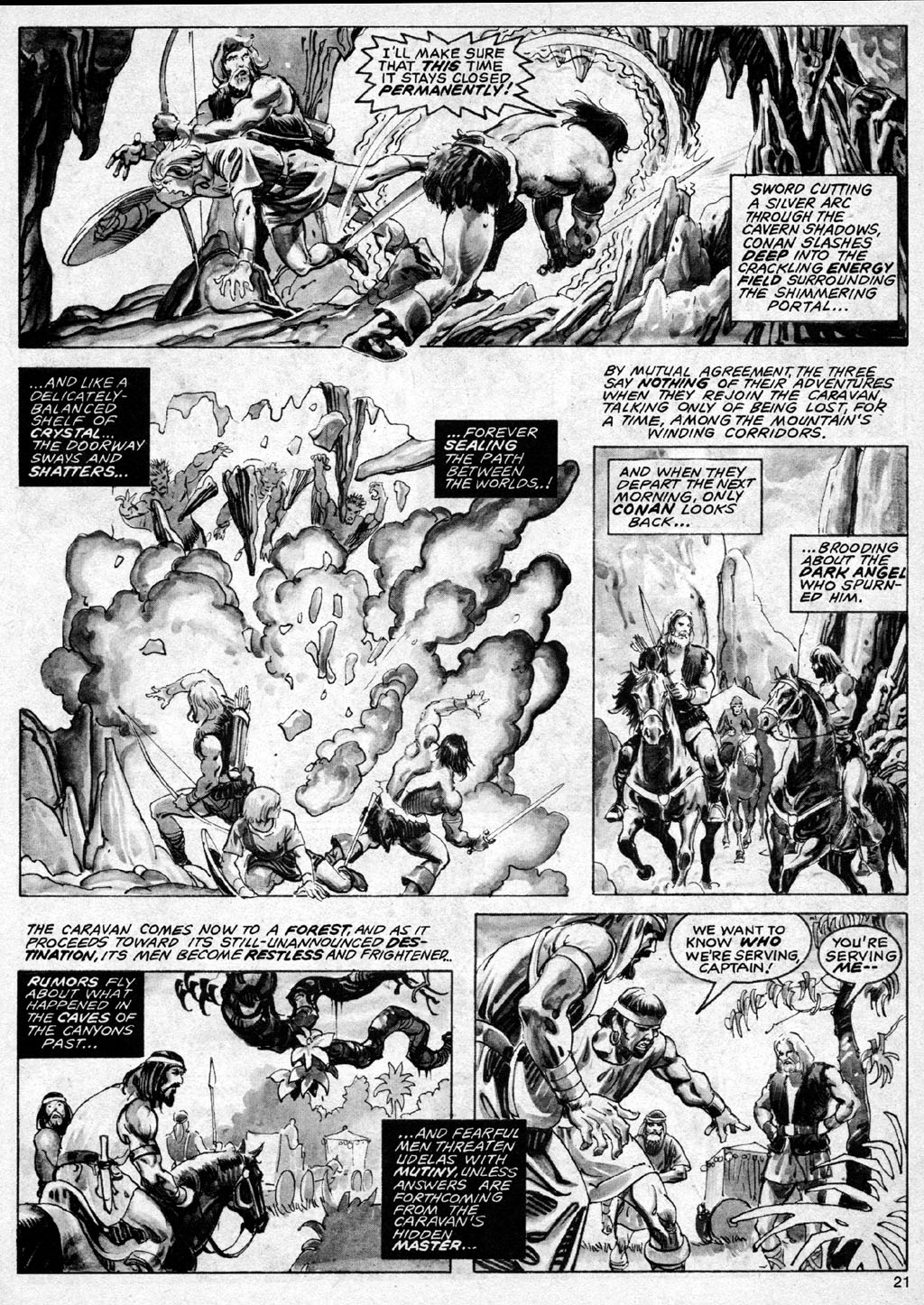 The Savage Sword Of Conan Issue #69 #70 - English 21