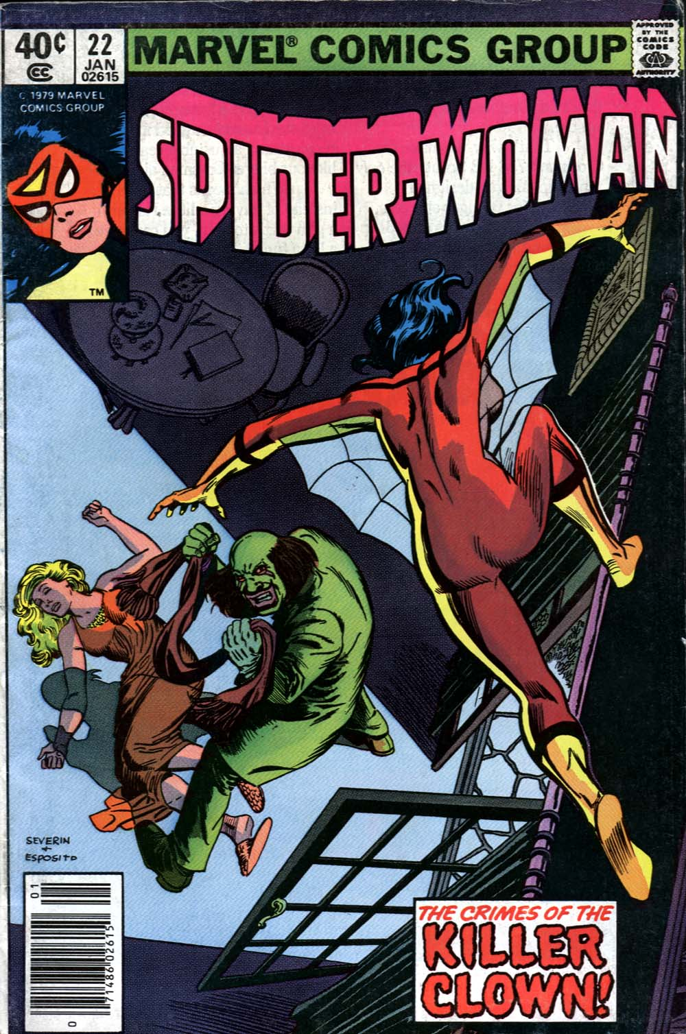 Spider-Woman (1978) Issue #22 #22 - English 1