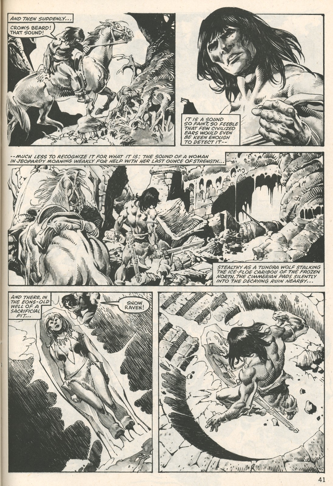 The Savage Sword Of Conan Issue #107 #108 - English 41