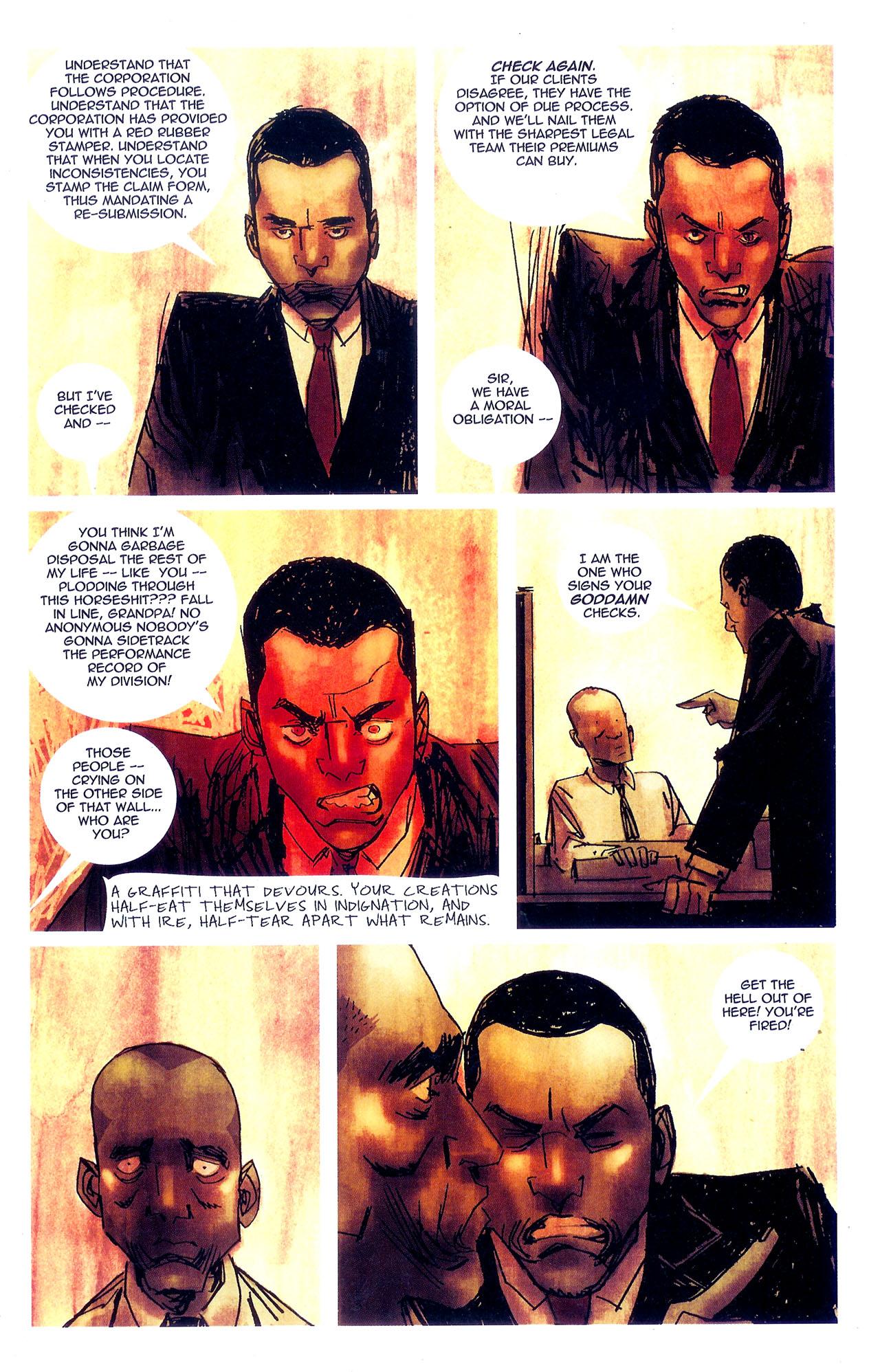 Read online Se7en comic -  Issue #7 - 19