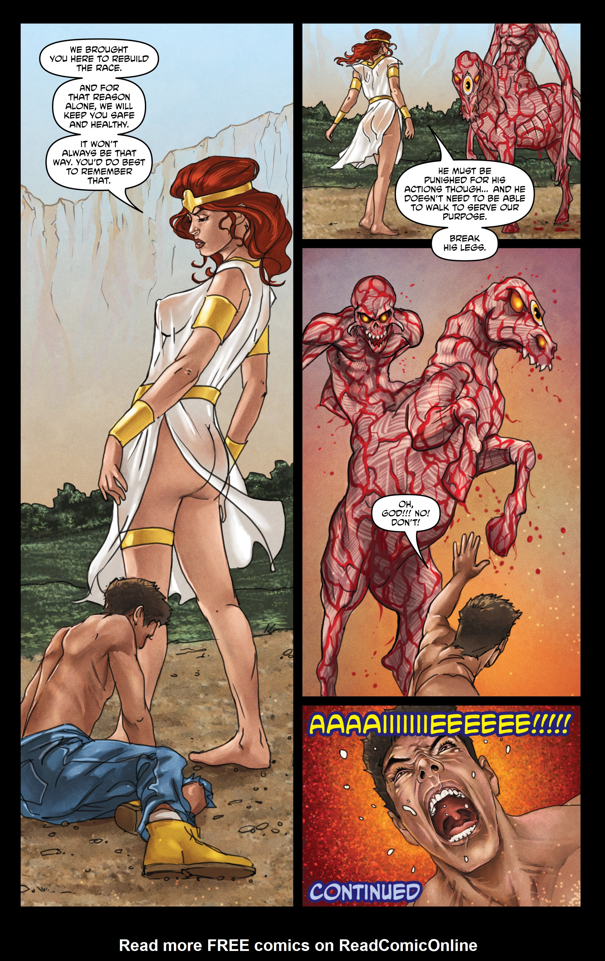 Read online God Is Dead comic -  Issue #44 - 24