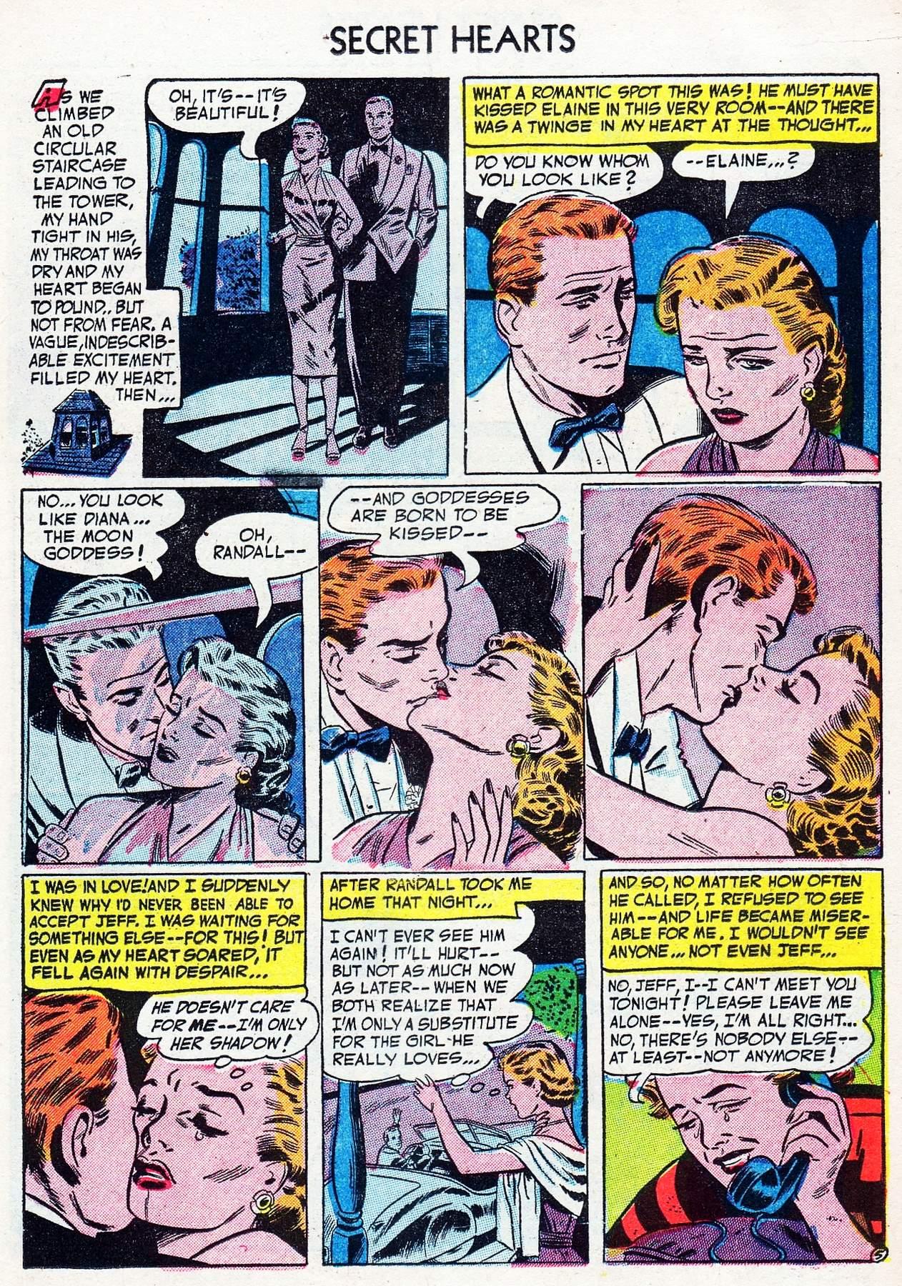 Read online Secret Hearts comic -  Issue #16 - 15