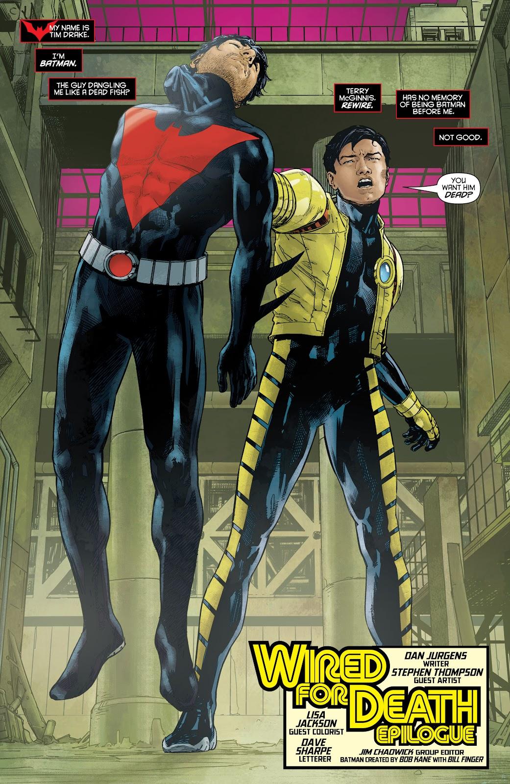 Batman Beyond (2015) Issue #16 #16 - English 3