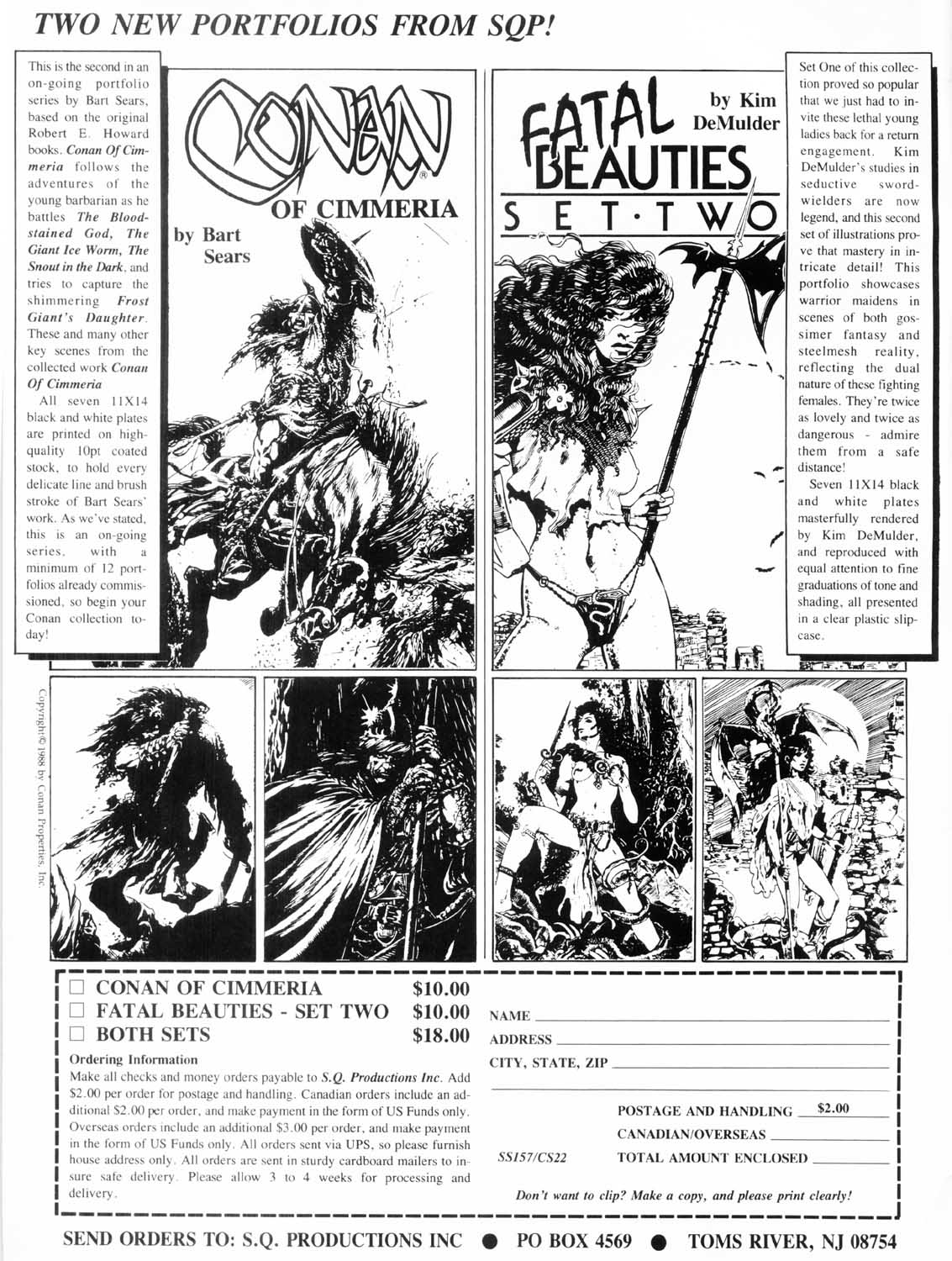 The Savage Sword Of Conan Issue #157 #158 - English 2