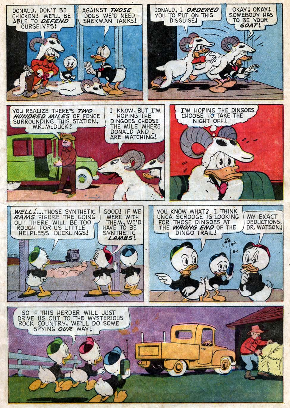 Uncle Scrooge (1953) Issue #62 #62 - English 9
