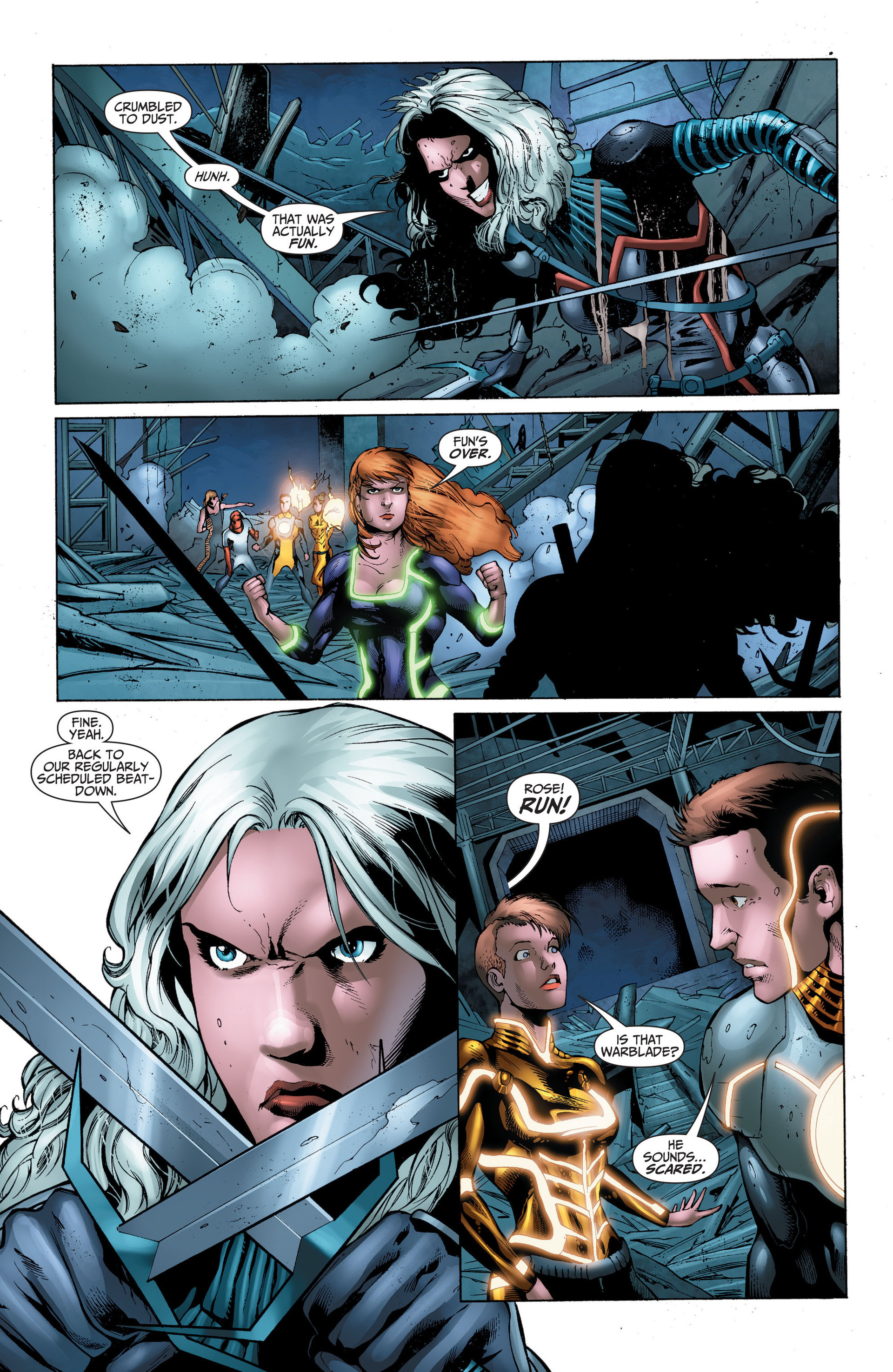 Read online The Ravagers comic -  Issue #11 - 19