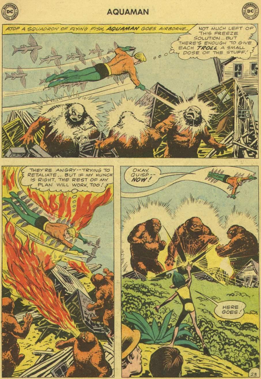 Read online Aquaman (1962) comic -  Issue #1 - 30