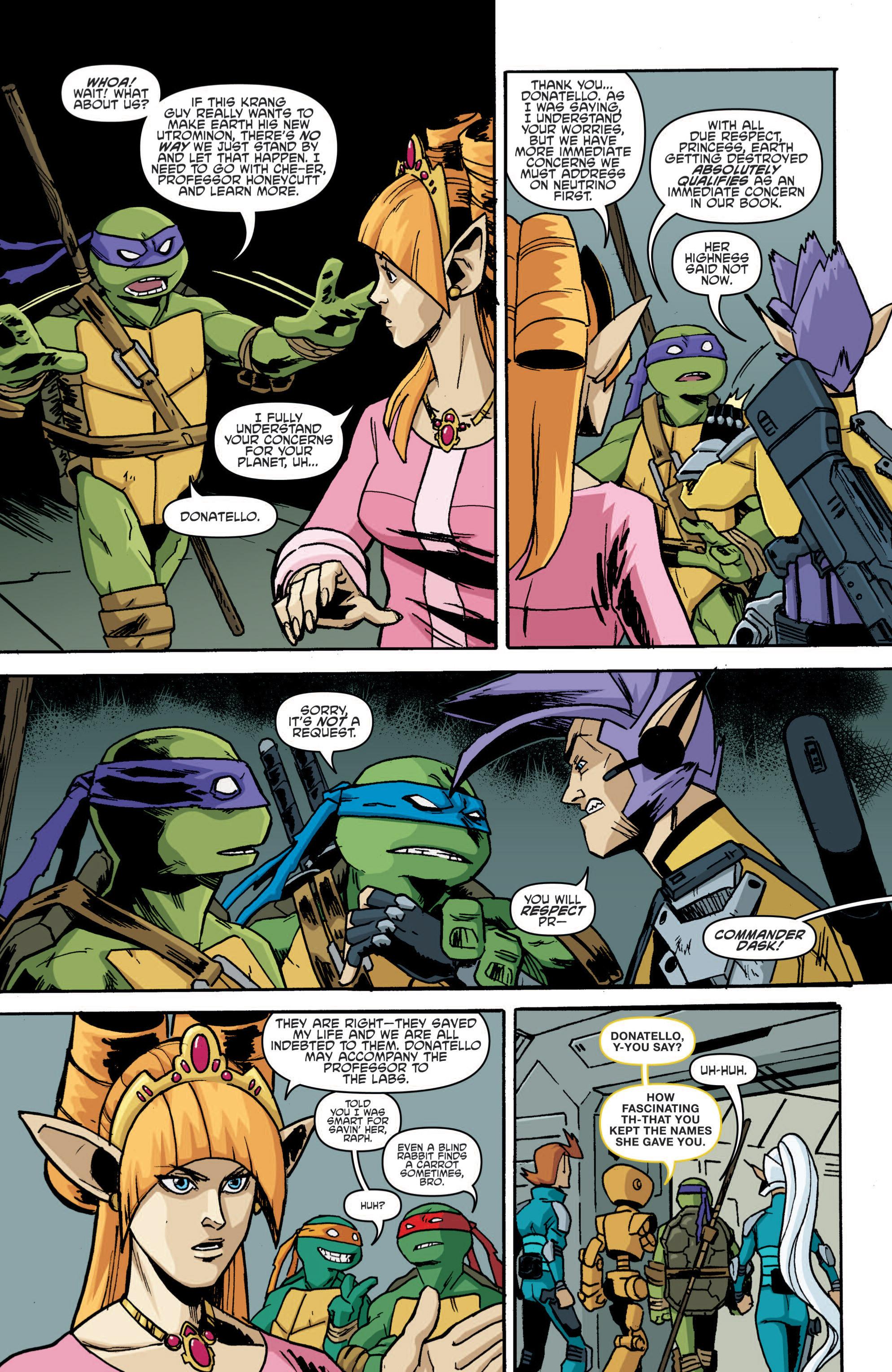 Read online Teenage Mutant Ninja Turtles (2011) comic -  Issue #19 - 8