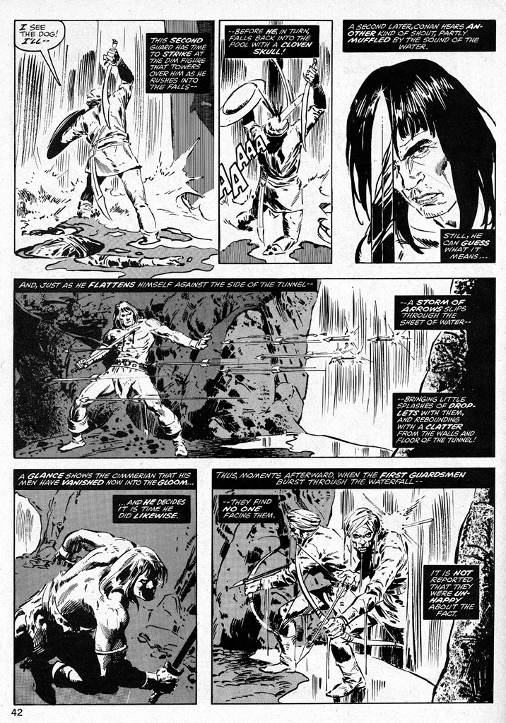 The Savage Sword Of Conan Issue #38 #39 - English 42