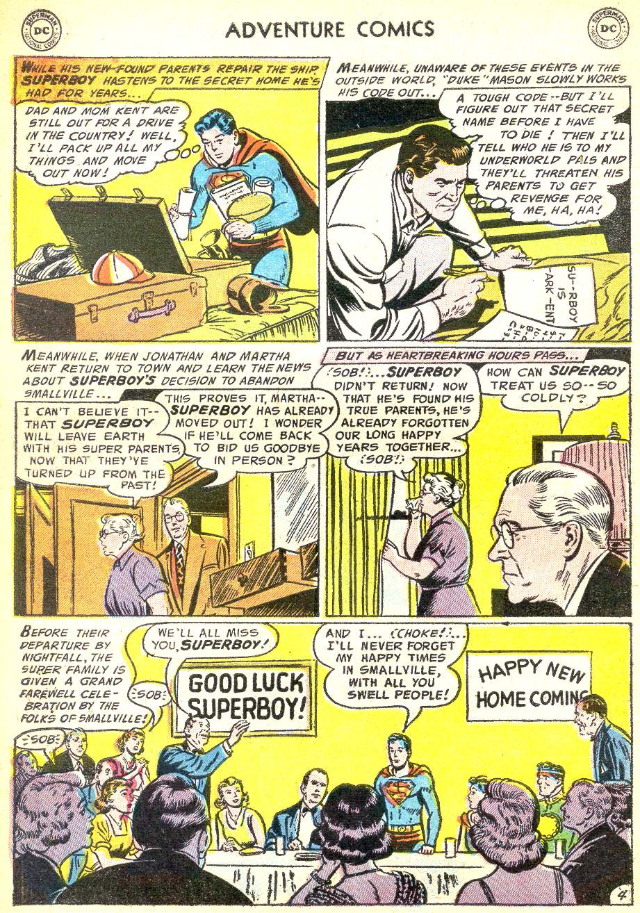 Read online Adventure Comics (1938) comic -  Issue #218 - 6