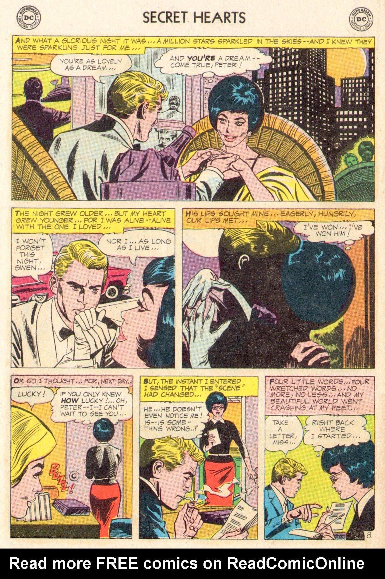 Read online Secret Hearts comic -  Issue #104 - 10