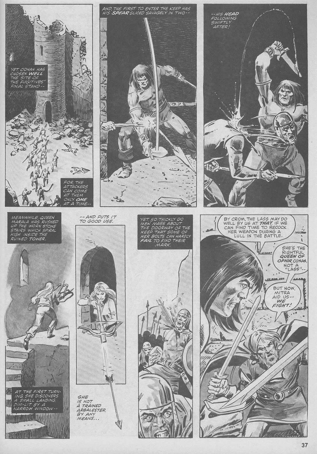 The Savage Sword Of Conan Issue #44 #45 - English 37